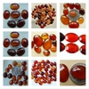 set of 2 Carnealian Cabochons Calabrated Ovals choice of sizes