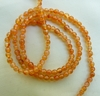 "Carnelian Beads round 3mm 15"" strands"