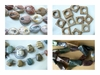 Carved and Fancy cut Jasper Beads, Exotic and Colorful