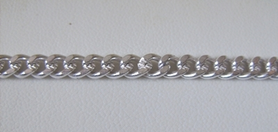 Chain by the Foot - 5mm Links - .999 Silver Over Copper<br>SCBKCH-053