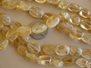 "Citrine ovals 6x8mm 14"" strands natural stone"