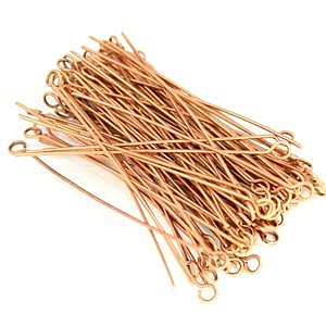 Copper Eye Pin 22 ga. 90 Pieces COBK48