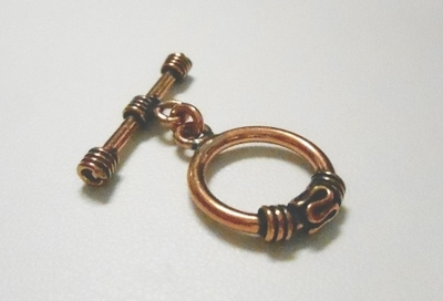 Copper Toggle