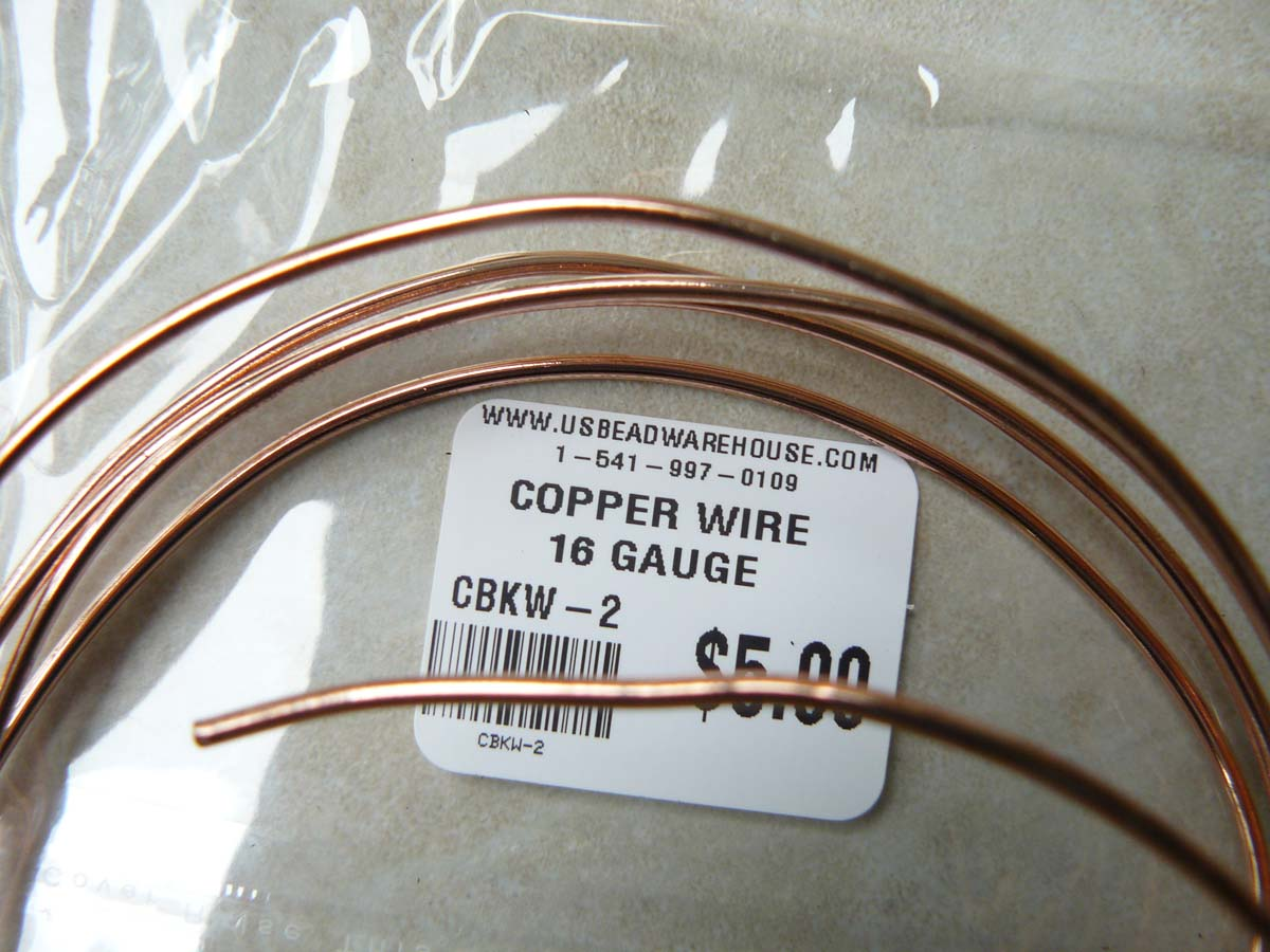 Copper Wire 16 Gauge one Oz Rolls approximately 5 Feet