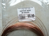 Copper wire 26 Gauge One oz rolls aproximately 40'