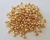 Crimp Covers - 3mm - Approx. 325 pcs. -  24Kt. Gold Over Copper<br>GCCC100