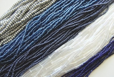 Czech Seed Beads: 11/0s, 10/0s, 8/0s, 6/0s, Bugle, and charlottes