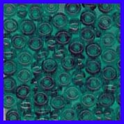 Emerald 6/0 Seed Beads