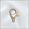 GOLD FILLED 4.8X8.3MM LOBSTER CLAW - NO RING one piece