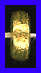 Mat Bead - 3.5x8.5mm - Gold Plated Silver<br>ORSB-1942