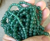 "Green Aventurine Beads Round 4mm 14"" strands"