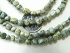 "Green Jasper Nugget Beads 5x5mm 16"" Strands"