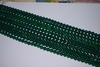 "Green Onyx Mala Beads 14"" strands 8-8.5mm Uniformley strung"