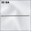 Head Pins - 22 Ga. 10 Pieces - Gold Filled 1.5 inches