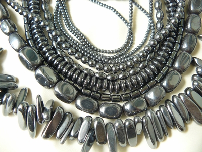 Hematite Beads - Round, Square, Chunky, Faceted and more
