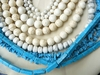 Howlite beads white and Turquoise color