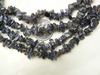 "Iolite Chip Beads 32"" Strands Sapphire Blue color"