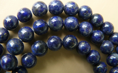 "Lapis premium AAA color Round Beads 6mm 15"" strands"