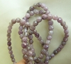 "Lipidolite Faceted Beads 4mm Gemmy purples 16"" Strand"