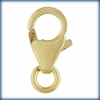 Medium Trigger Clasp (6.0x10.0mm) w/Ring Gold filled SS/307