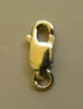Gold Filled Lobster Claw (4.5x12.0mm) w/Ring 2 pieces
