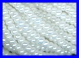 Luster Chalk White 11/0 Seed Beads