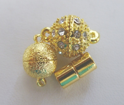 Magnetic Clasps - 24kt. Gold Over Copper