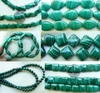 Malachite Beads Many different cuts and Sizes