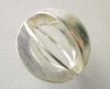 Mat Bead - 18x19mm - 1 Bead - Sterling Silver<br>ORSB1989