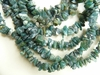 "Moss Agate Beads Chip 32 "" strands"
