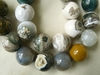 "Ocean Jasper 18MM round beads 16"" Strands"