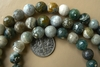 Ocean Jasper 8mm Faceted Round Beads 16 strands Colorful
