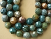 "Ocean Jasper Faceted Rounds 12mm or 14mm 16"" strands"