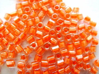 Orange Lined Crystal 8C-986