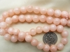 "Peach-Pink 8mm Agate beads 14"" Strands Pastel"