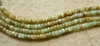 "Peruvian Blue Andean opal Heishi Beads 3x4.5mm 16"" strand"