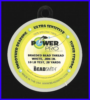Power Pro Braided Bead Thread