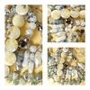 "Prehnite Beads Faceted, Ovals, Chips ""Tourmalated Green Silicate"""