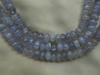 Purple Chalcedony - Rondelle Beads 4mm 16 inch Strands