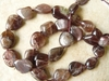 Purple Moonstone Beads Rair Moonstone Color Freeform 16""
