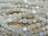 "Rainbow Moonstone smaller buttons 3x8mm 15"" strand"