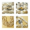 Rutilated Quartz Beads With Natural Golden Titanium Crystals
