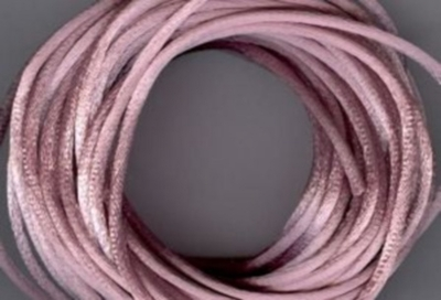 Satin Cord - Antique Mauve