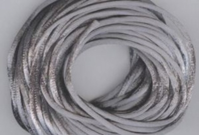 Satin Cord - Dark Gray