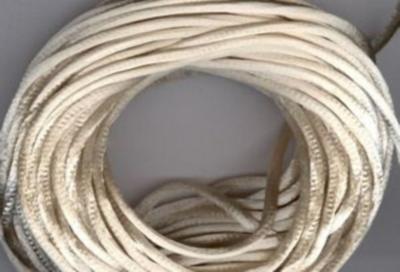 Satin Cord - Light Beige