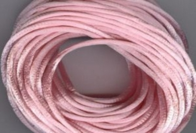 Satin Cord - Light Pink