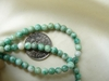 "Sesame Jade Beads 4mm 16"" Strands"