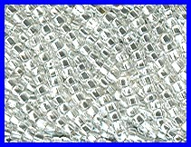 Silver Lined Crystal 11/0 Seed Beads