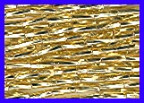Silverlined Gold #3 Twisted Bugle Bead