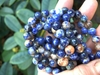 "Sodalite Colorful pastel Fancy rounds 8mm 16"" strands"